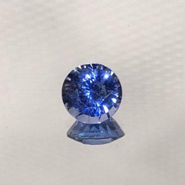 Ceylon Blue Sapphire Round 6mm 1.08ct.