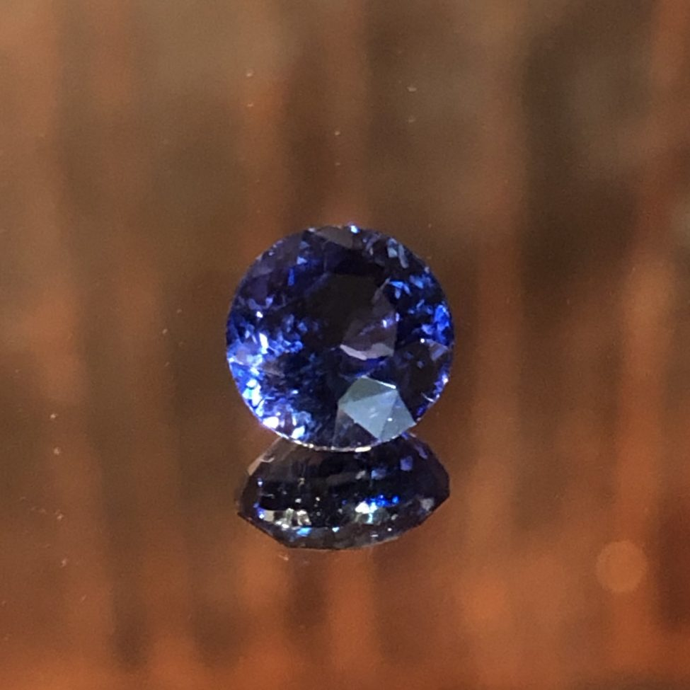 Ceylon Blue Sapphire 6.7mm 1.79ct.