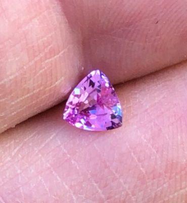 6mm Trill Ceylon Pink Sapphire .73ct