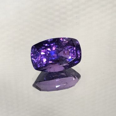 Beautiful Rectangular Purple Sapphire Cushion 1.85ct.