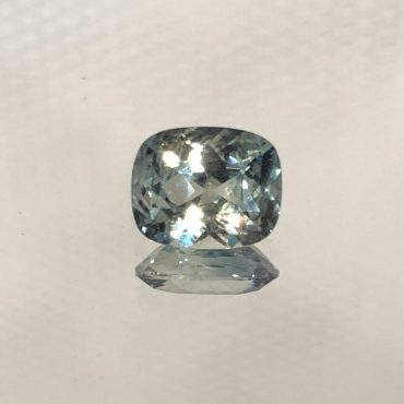Ceylon Mint Green Sapphire Cushion • 1.21ct