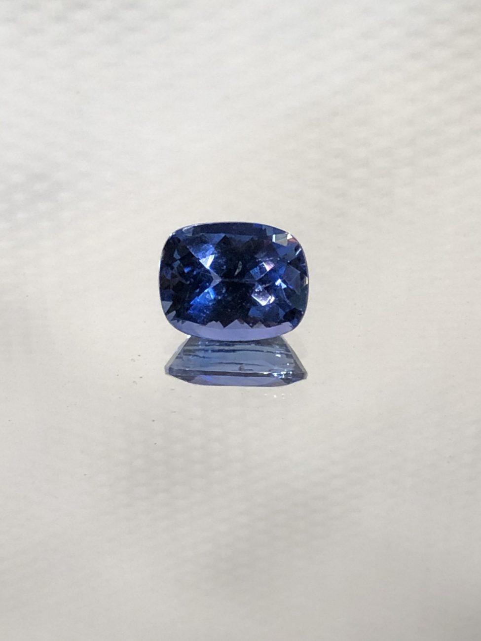 Ceylon Blue Sapphire Cushion•1.23ct.