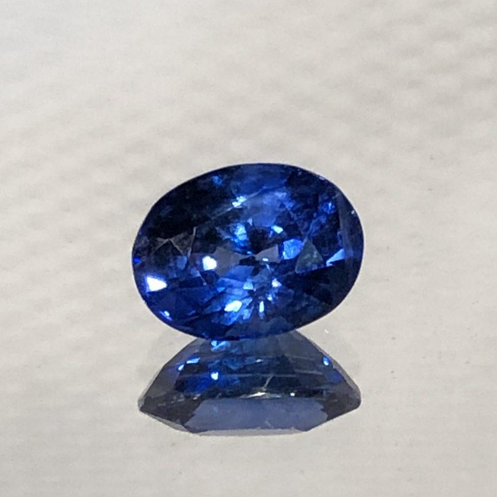 Ceylon Blue Sapphire Oval•1.23ct