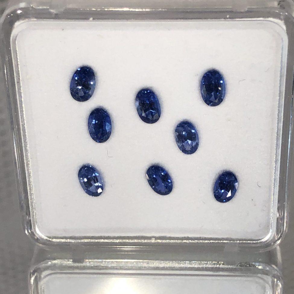 Ceylon Blue Sapphire Ovals•3x4mm