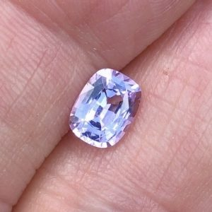 Ceylon Pastel Pink Spinel Cushion • 1.51ct