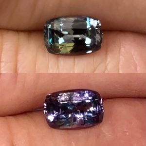 Natural Alexandrite Cushion • 1.60ct