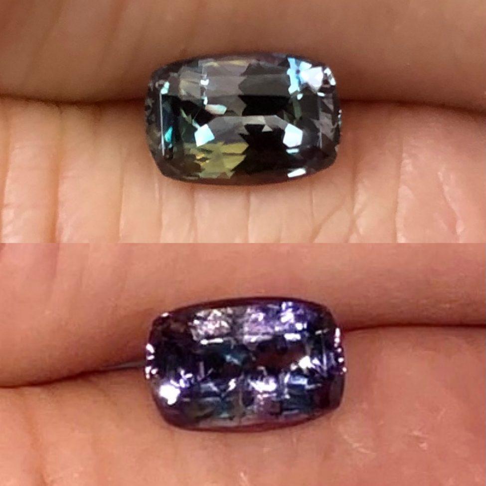 Natural Alexandrite Color Change 1.60ct